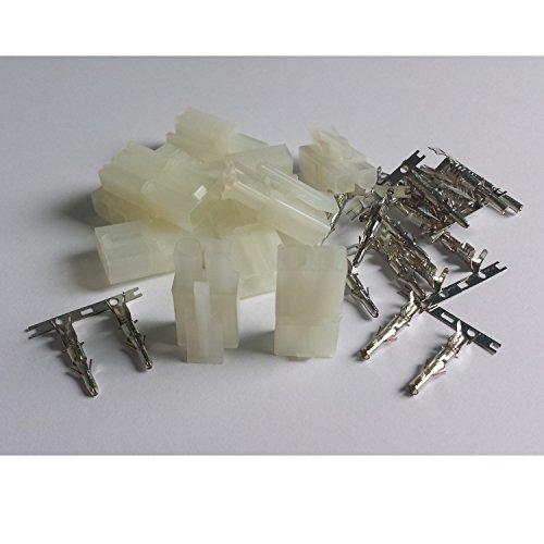MR-Onlinehandel ® 5 Paar (10 Stück) Tamiya kompatible Stecker + Buchse - Crimp Set - Crimp-anschlüsse