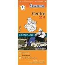 Carte Centre Michelin 2017