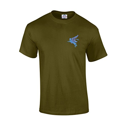 Blue Rock Airborne Pegasus Heavyweight Embroidered T-Shirt