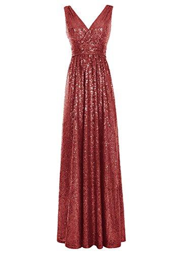 Kostüm Juliet Moderne (Bbonlinedress Damen Modern Cocktail-kleider Schnürung Party Kleider Abendkleider Dark Red)