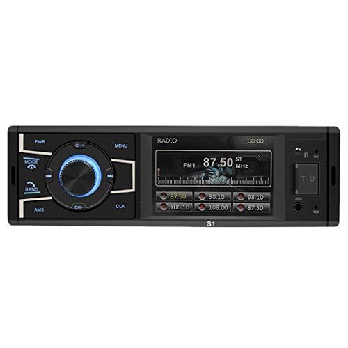Minusk 3.2-Zoll-Auto-Bluetooth-Stereo-Radio-Auto-Doppelbarren MP5, RCA AUX Bluetooth Autoradio FM / MP5-Spieler Bluetooth-Touch-Car-Player Kann An Die Kamera Angeschlossen Werden