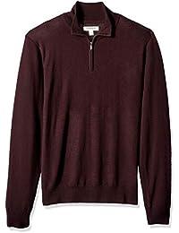 Amazon.it  maglione in lana - Rosso   Uomo  Abbigliamento 1c00faefe7b