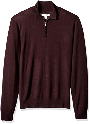 Goodthreads Merino Wool Quarter Zip Sweater