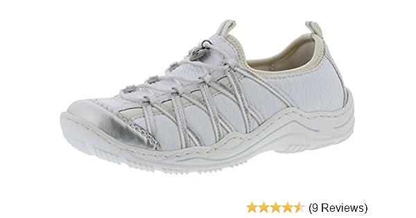 pretty nice a109c 828ba Handtaschen Rieker Rieker Sneaker Schuhe amp; Weiß Damen ...