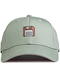 c4655c431d9 URBAN MONKEY Unisex Jade Green Floppy Disk Baseball Cap - The Nostalgia  Collection-Free Size