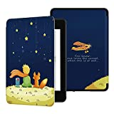 Ayotu Custodia in Pelle per Kindle Paperwhite 2018 - Case Cover Custodia Amazon Nuovo Kindle Paperwhite (10ª Generazione - Modello 2018), K10 The Boy And Fox