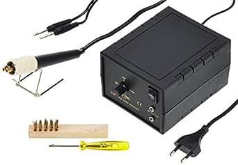 Hobby Bague Brand Appareil de combustion Peter Junior 30W, température réglable 350–800degrés C, 1pièce, 101192550