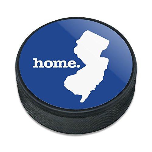 New Jersey NJ Home State solid navy blau Offizielles Lizenzprodukt Eishockey Puck (Jersey Blau Puck)