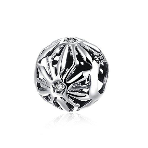 Hmilydyk new 925sterling argento bianco cz cristallo shinning artiglio perline a buon mercato braccialetti pandora vendita