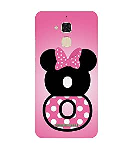 PrintVisa Mickey Mouse Face 3D Hard Polycarbonate Designer Back Case Cover for Asus Zenfone 3 Max ZC 520 TL