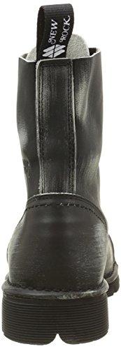New Rock M Newmili083 S6, Bottes Rangers Homme Noir (Black)