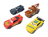 The coolest toy cars ever from disney pixar cars3 die cast metal car models, pack of 4 cars, all the cars are theme based on each disney pixar cars colours, enjoy and play them all.