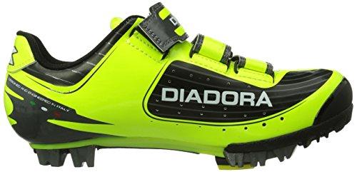 Diadora  X TORNADO, Chaussures de cyclisme pour femme Jaune - Gelb (schwarz/gelb/weiß 3444)