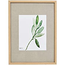 AmazonBasics Gallery Wall Frame - 43.2 x 58.4 for 28 x 35.6 Display, Natural
