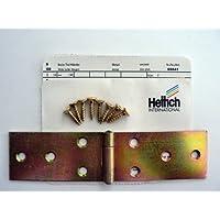 Hettich Breite Tischbänder 34/140 mm, verzinkt, 2 Stück, Artikelnr. 841