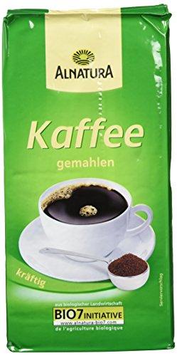 Alnatura Bio Kaffee, gemahlen, 3er Pack (3 x 500 g)