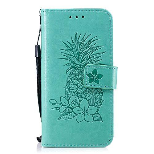 Bear Village iPhone 6 / iPhone 6s Hülle, Leder Flip Handyhülle Schutzhülle mit Kartenfach, Standfunktion und Magnetverschluss für Apple iPhone 6 / iPhone 6s, Grün