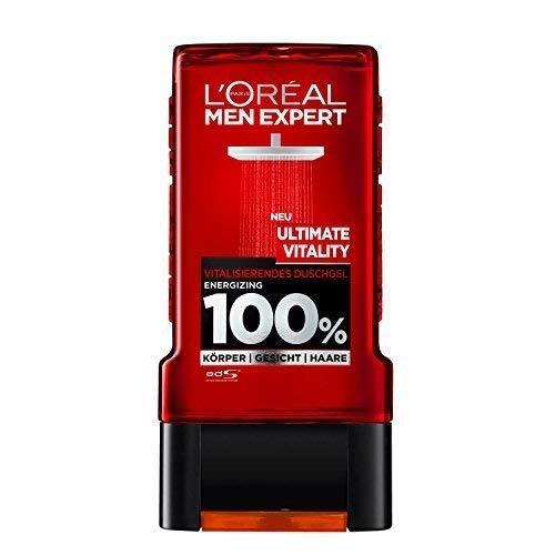 L'Oréal Men Expert Duschgel Ultimate Vitality, 6er Pack ( 6 x 300ml)
