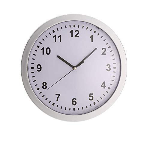 Trifycore Versteckte sichere Wanduhr Lagerung Clock Mode Kunststoff Sicher versteckter Hanging Uhr Schmuck Geld Compartment Stash Box ohne Batterie