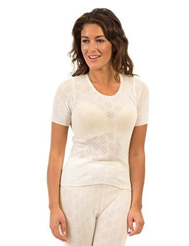 3 Pack Senorita Womens/Ladies Thermal Underwear Short Sleeve Vest, Various Colours & Sizes Test