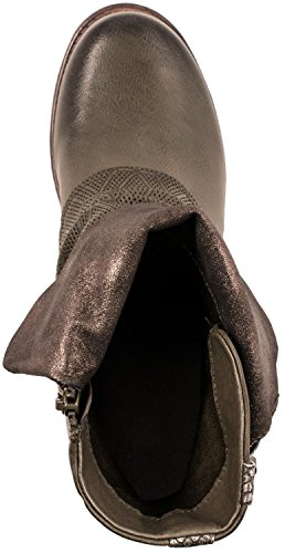 Elara , Desert boots femme Vert