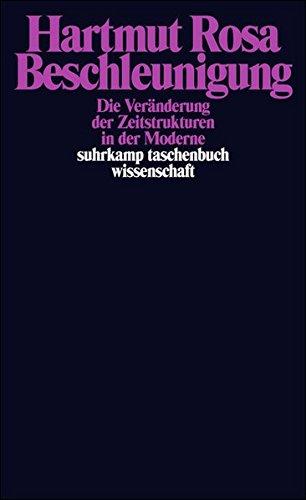 Buchseite und Rezensionen zu 'Beschleunigung. Die Veränderung der Zeitstrukturen in der Moderne' von Hartmut Rosa