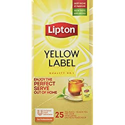 Lipton Yellow Label schwarztee, 3er Pack (3 x 45 g)
