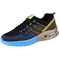 finest selection 72622 8d2a8 QUICKLYLY Zapatillas Deporte Hombres,Calzado Running Correr Adulto,Zapatos  Gimnasio Sneakers Entrenamiento Aire