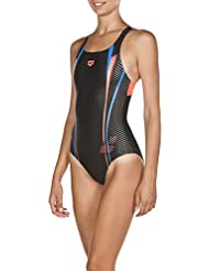 c2d5066b2995 arena W Roy Swim PRO Back One Piece - Costume da Bagno da Donna, Donna