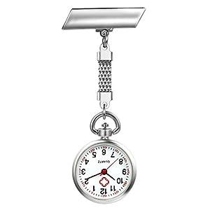 LANCARDO Uhren Schwesternuhren, Krankenschwester Armbanduhr FOB-Uhr Damen Taschenuhr Analog Quarzuhr aus Legierung LCD037P017