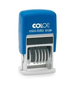 Colop S100.S126.1 Numérateur 6 Bandes 4 mm