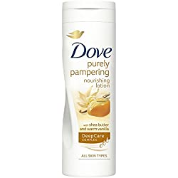 Dove Purely Pampering Nourishing Lotion With Shea Butter & Warm Vanilla, 400ml