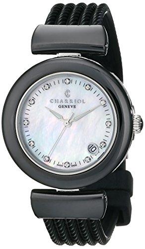 charriol-ael-femme-33mm-noir-caoutchouc-bracelet-date-montre-ae33cb173003
