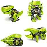 Cute Sunlight Green and Grey Color Solar 4 In1 Robotic Kit - Educational