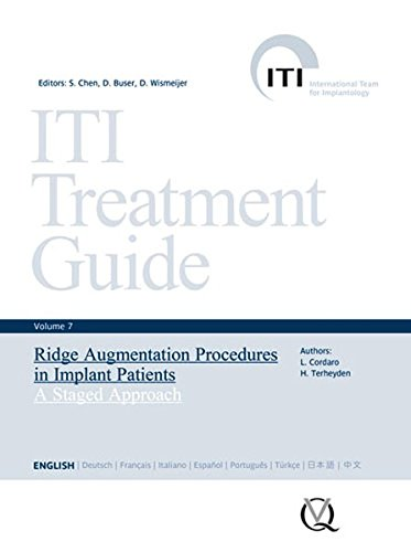 Ridge Augmentation Procedures in Implant Patients : A Staged Approach par Daniel Wismeijer