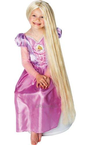 RetailZone (Fancy Dress) - Kinder Rapunzel Nachtleuchtende Perücke Disney Tangled Kostüm Zubehör