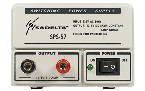 festspannungsnetzgeraet sadelta sps-57Netzteil Netzgerät 220V/13,8V. 5–7Ampere. Ideal für Elektronik, Funkamateure..