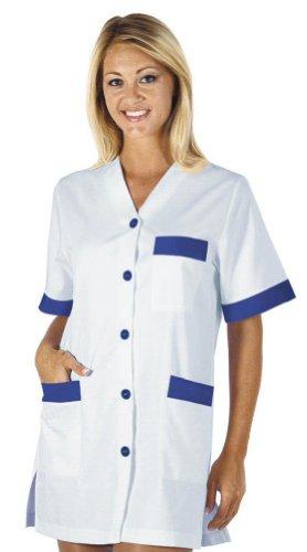 Robinson kasack dACCA pour femme blanc/bleu Blanc - Weiß/Royalblau