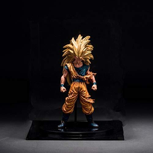 QCRLB Dragon Ball Juguete Estatua Kakarotto Anime Modelo PVC Personaje De Dibujos Animados Estatua Decoración Colección -21CM Modelo de Juguete