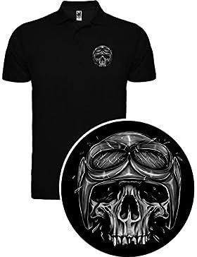 The Fan Tee Polo de Mujer Skull Calavera