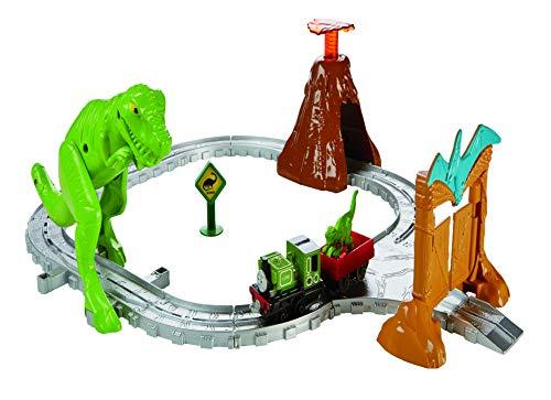 Thomas & Friends FBC67 Dino Discovery Set, Thomas the Tank Engine Toy Train Set, Adventures Toy Train, 3 Year Old