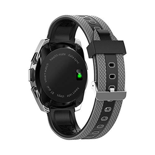 Yallylunn Kalorien Sportkilometer Rekordübung Herzfrequenz Pedometer Touchdisplay Aus Kristallglas Automatische Synchronisierung Smart Watch