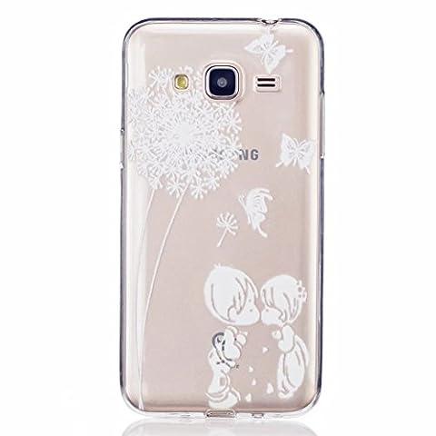 MOTOUREN Coque Pour Samsung Galaxy J3 Crystal Case Ultra Mince