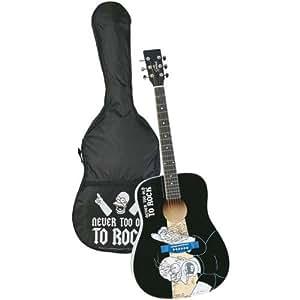 Partner Jouet - A1102548 - Instrument de Musique - Guitare Acoustique - Simpson + San