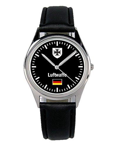 Soldat Geschenk Artikel Bundeswehr Luftwaffe Uhr B-1030