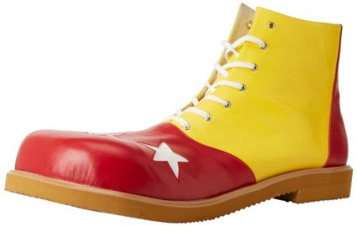 Funtasma CLOWN-02 Herren Clown-Schuh Yellow-Red Pu