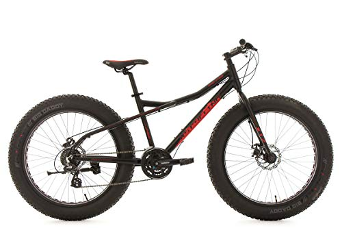 "KS Cycling Mountainbike 26"" Fatbike SNW2458 Aluminiumr… 