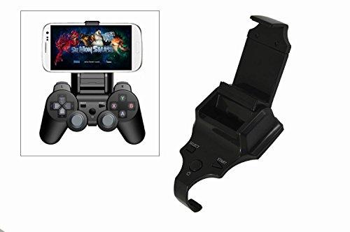Racksoy - Smart Gameklip Universal Mobile Phone Handy Montage Halterung Handyhalter Für PS3 Dual Shock Controller IOS & Android + OTG Kabel + Ladekabel -