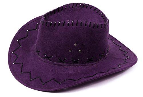 Cowboyhut Westernhut Texas Australien Outback Hut mit Sturmband (Kinder Hüte Western)