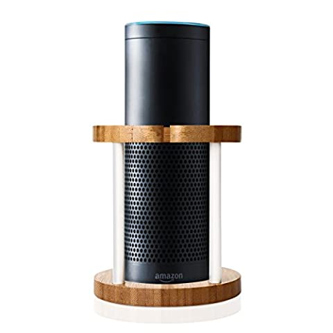 Echo Speaker Stand for Amazon Echo Bamboo Wood Amazon Alexa Echo Speaker Stand Alexa Stand